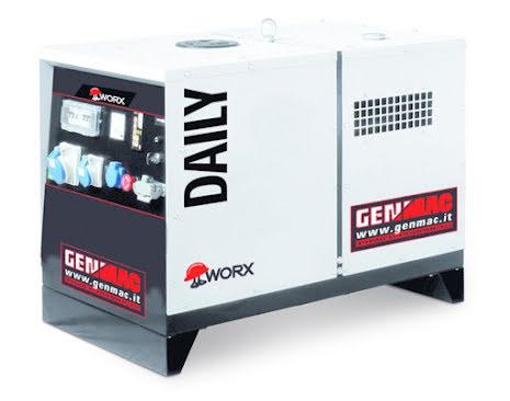Elverk Genmac Daily G7900HS-M5