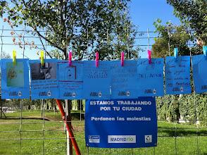 Photo: Detalle del Mural de paseo de Extremadura