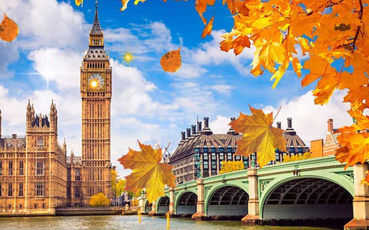 Hd Puzzle Wallpaper Autumn London Live Wallpaper Android Apps On Google Play