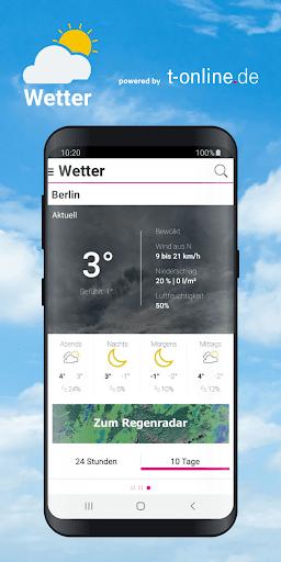 Wetter by t-online.de screenshot 1