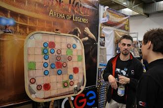 Photo: Demo verze nové hry Vládi Chvátila Tesh-Kalar: Arena of Legends na stánku CGE