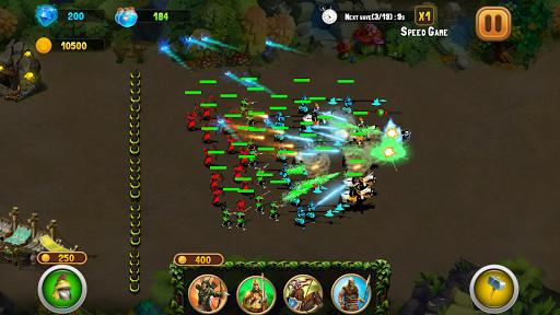 StickMan Defense War - Empire Hero & Tower Defense android2mod screenshots 4
