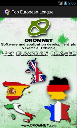Top European Football 2015 16