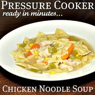 Scrumptious Chicken Noodle Soup.