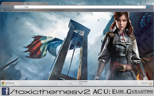 Assassins Creed Unity Elise Guillotine