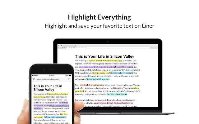 Liner - Private Web/PDF Highlighter chrome extension