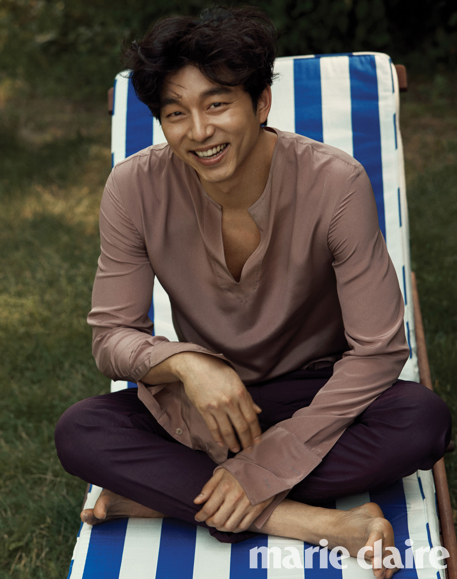 gong yoo marie claire
