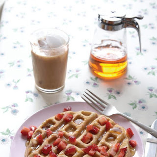 Double Strawberry Waffles.