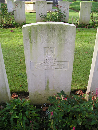 James  R Duffin grave