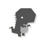 Trex Runner - Night version Icon
