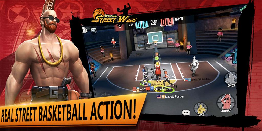 Street Wars: Basketball- screenshot