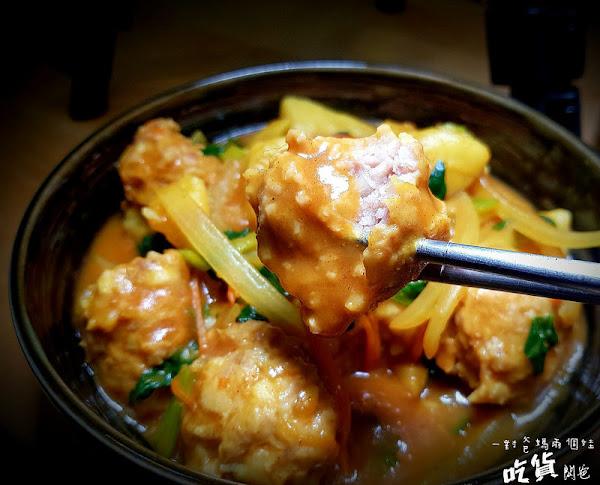 推!隱藏小食堂。超好食的咖哩丸子、唐揚雞、花枝燒就在。小澤丼