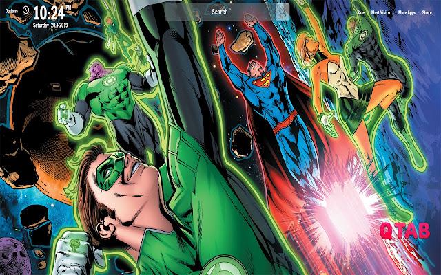 DC Comics New Tab DC Comics Wallpapers