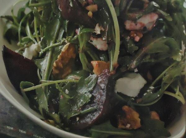 My Red Beet, Feta Cheese, & Walnut Salad Recipe