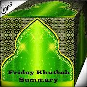 Friday Khutbah Summary Mp3