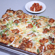 Large Korean Fried Chicken Pizza