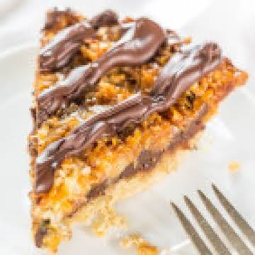 Samoas Cookie Pie