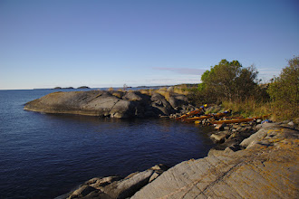 Photo: Our bay at Angödrommen