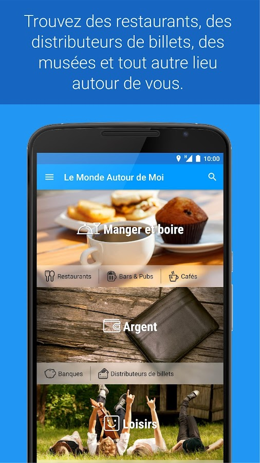 le monde autour de moi applications android sur google play. Black Bedroom Furniture Sets. Home Design Ideas