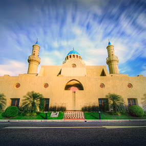 As Solehin Mosque  by Mohamad Sa'at Haji Mokim - Buildings & Architecture Places of Worship ( arabic, building, unique, mosque, brunei, design )
