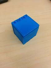 Photo: Hinge box, folded.