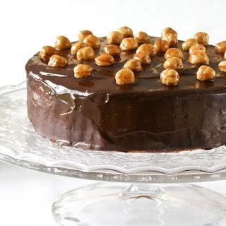 Mocha Frangelico Mousse Torte