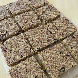 Flapjacks with Chocolate & Sultanas Recipe