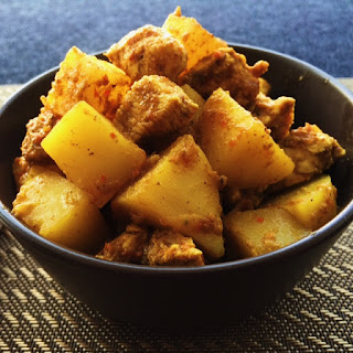Caribbean Curry Chicken.