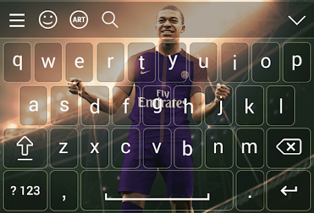 Keyboard for Mbappe psg 2018 - náhled