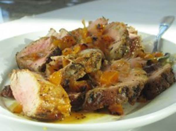 1-2-3 Pork Tenderloin With Apricot-mustard Glaze Recipe