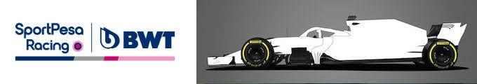 2020F1新車発表レーシングポイント