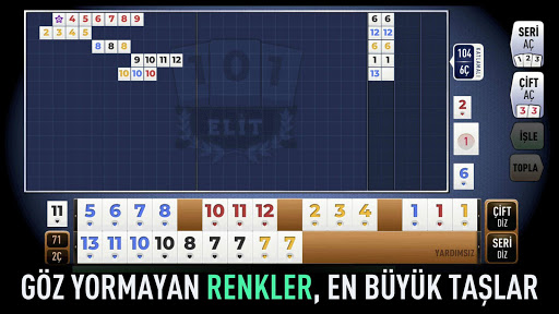 101 Yu00fczbir Okey Elit 1.1.24 screenshots 1