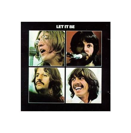 Beatles - Let It Be - Single Coaster