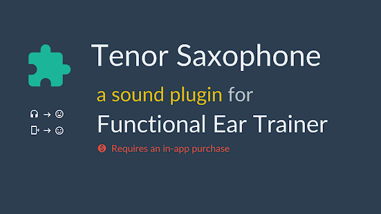 Tenor Saxophone *Plugin*- screenshot thumbnail
