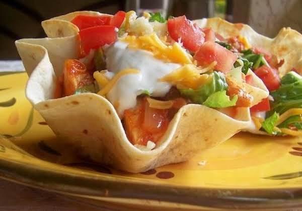 Fiesta Chicken Taco Cups Recipe