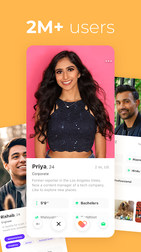 Dil Mil: South Asian singles, dating & marriage android2mod screenshots 2