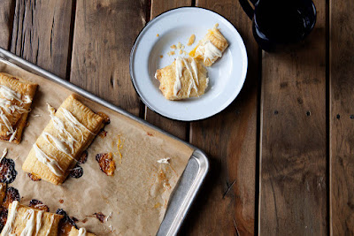 This strudel's a lemon-ginger curd dream.