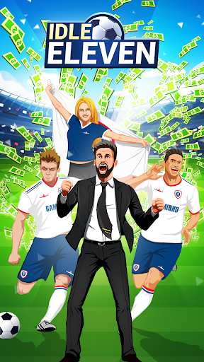 Code Triche Idle Eleven - Devenez un millionnaire du football APK MOD screenshots 1