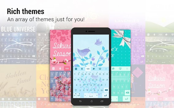 ZenUI Keyboard – Emoji, Theme APK screenshot thumbnail 9