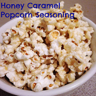 Honey Caramel Popcorn Seasoning