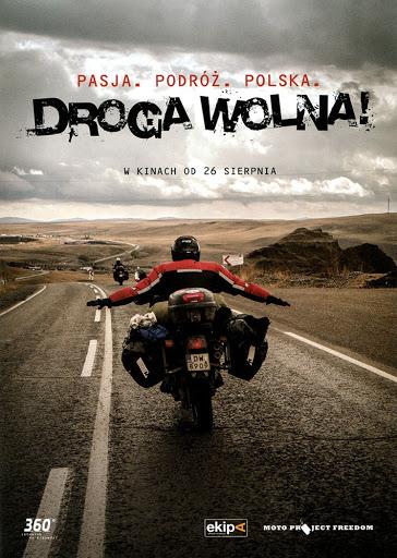 Przód ulotki filmu 'Droga Wolna!'