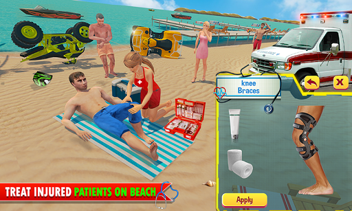 Lifeguard Beach Rescue ER Emergency Hospital Games 15 app download 2