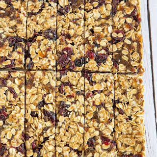 No-Bake 5-Ingredient Granola Bars.