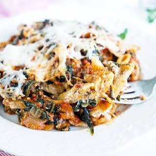 Turkey Florentine Pasta Bake.