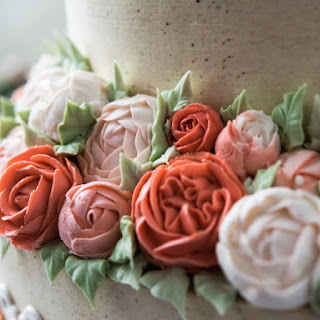 Buttercream For Piping Flowers.