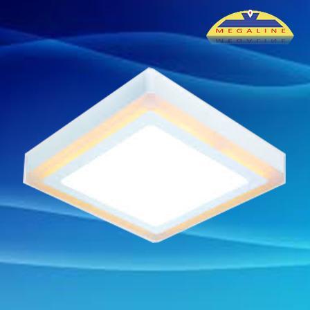 Đèn led ốp trần gắn nổi đổi màu DMB518 18W 1520lm