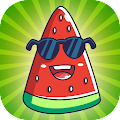 Merge Watermelon – Great Evolution Clicker Game