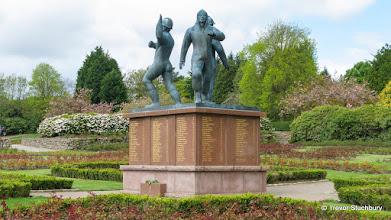 Photo: Piper Alpha Memorial, Hazlehead Park, Aberdeen