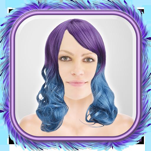 オンブル髪フォトモンタージュ 攝影 App LOGO-APP試玩