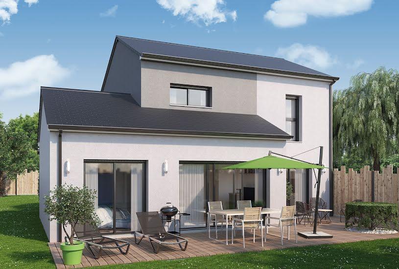 Vente Terrain + Maison - Terrain : 450m² - Maison : 100m² à Nivillac (56130)